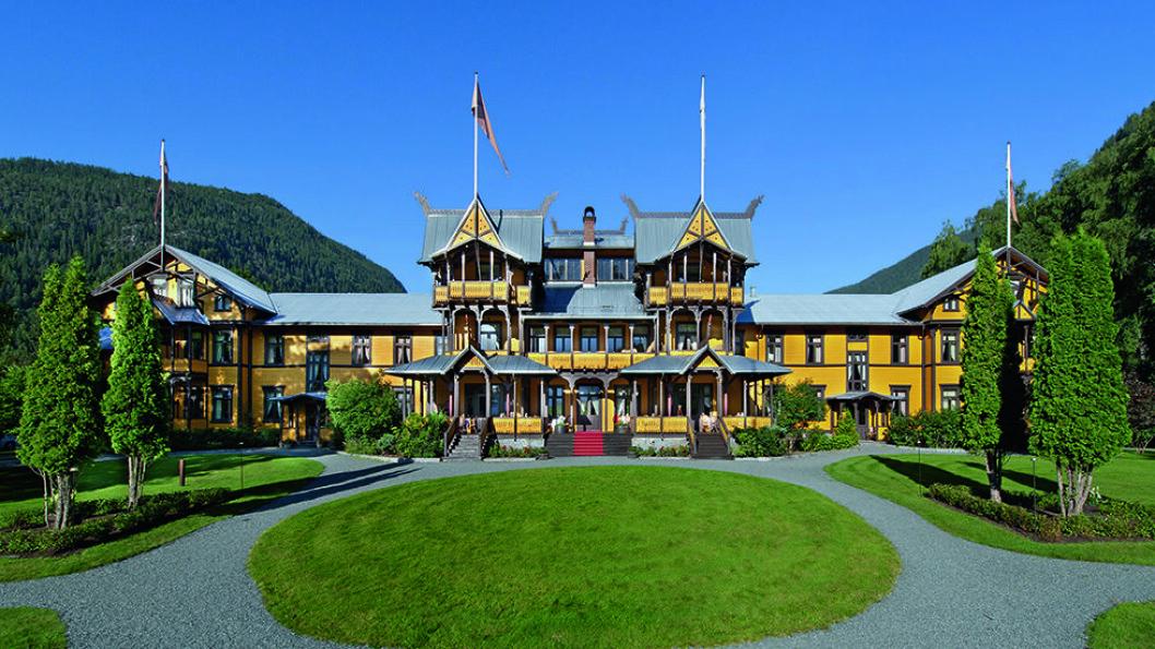 Dalen hotel i Telemark er enestående i sitt slag. Riksantikvaren beskriver det som det best bevarte av sveitserhotellene. Foto: Dalen Hotel