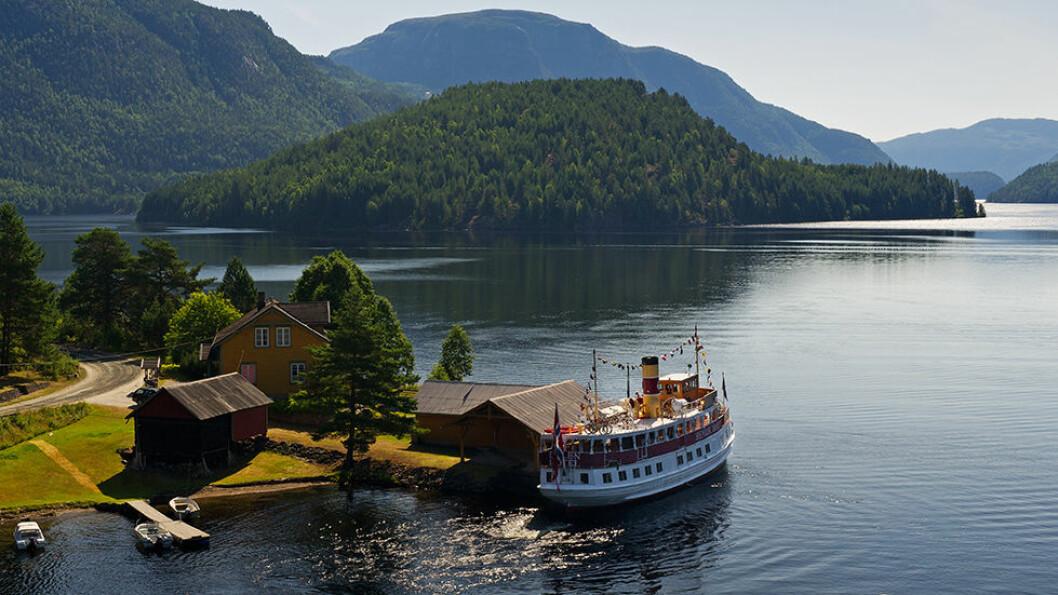 Telemarkskanalen med alle sine sluser og Dalen Hotel som er ett av de best bevarte sveitserhotellene i Norge, er tilsammen en unik opplevelse.