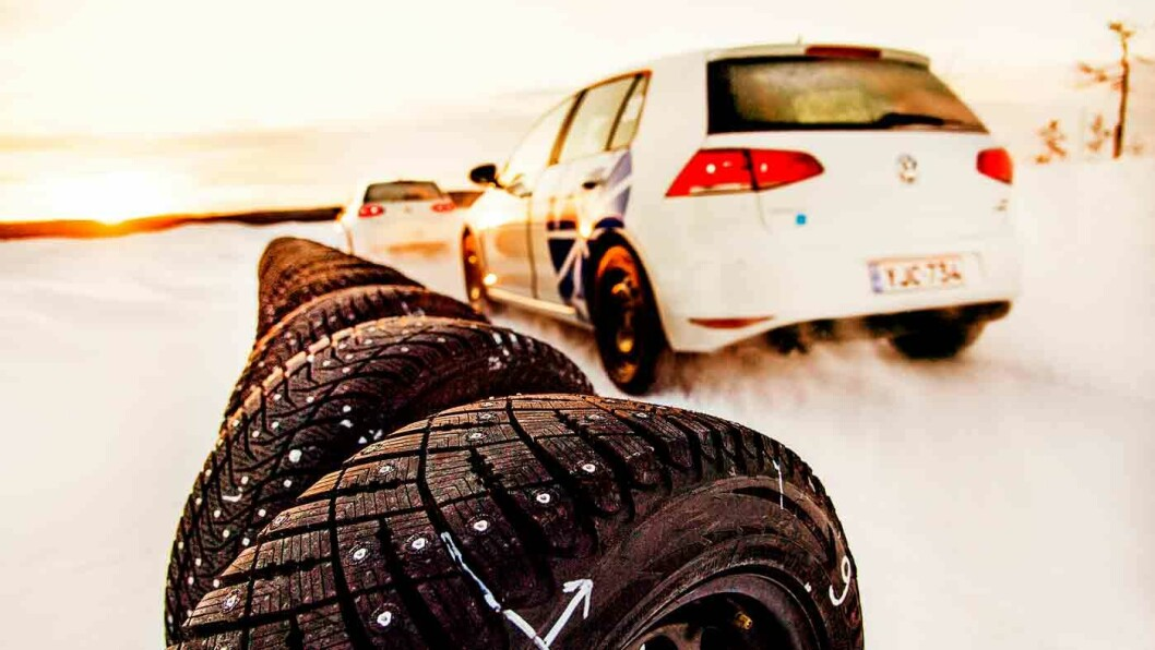 KOREANSK PÅ TOPP: Kumho har klart kortest bremselengde på våt asfalt. Foto: Lasse Allard