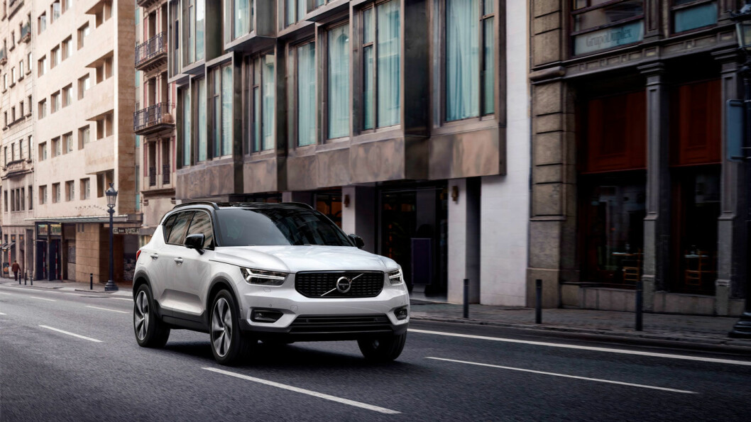 EN NY HVERDAG: Med sin XC 40 introduserer Volvo en lang rekke nyheter, blant annet abonnement. Foto: Volvocars