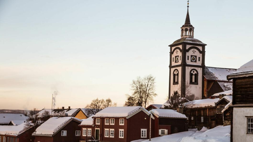 BERGSTADEN: Røros om vinteren er en perfekt ramme for en koselig og lærerik strikkehelg.
