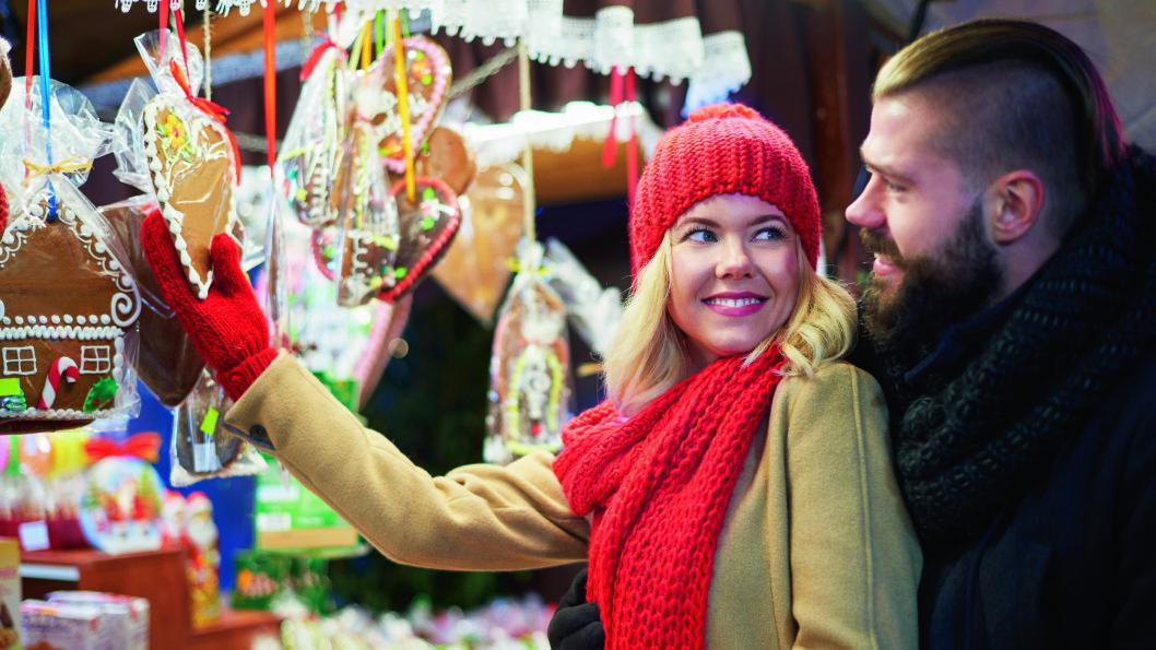 JULEGLEDE: På de fargerike tyske julemarkedene er det lett å komme i julestemning. Foto: Shutterstock