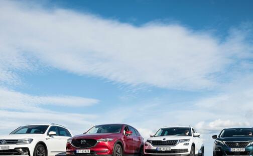 Vi har testet bilene som nordmenn elsker