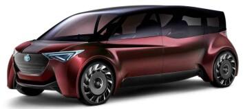 Toyota forbereder hydrogenbil med 1000 km rekkevidde