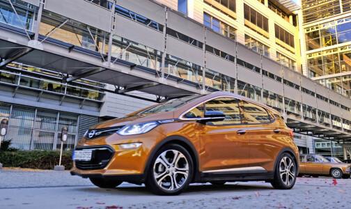 Opel stopper salget av elbilen Ampera-e