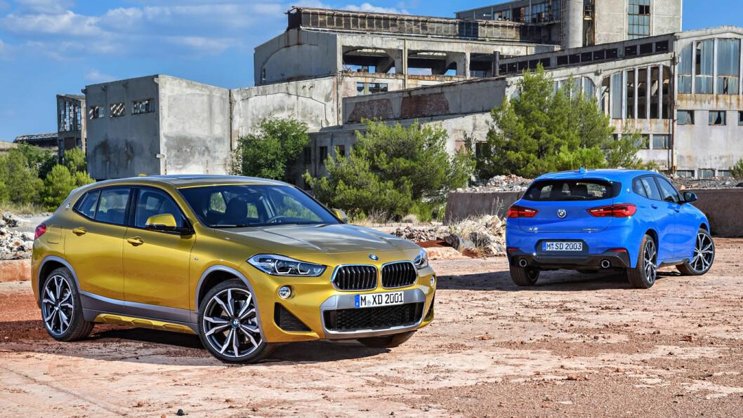 SPENNENDE: BMWs nye X2 kommer i mars, en av de spennende nybilene i 2018.