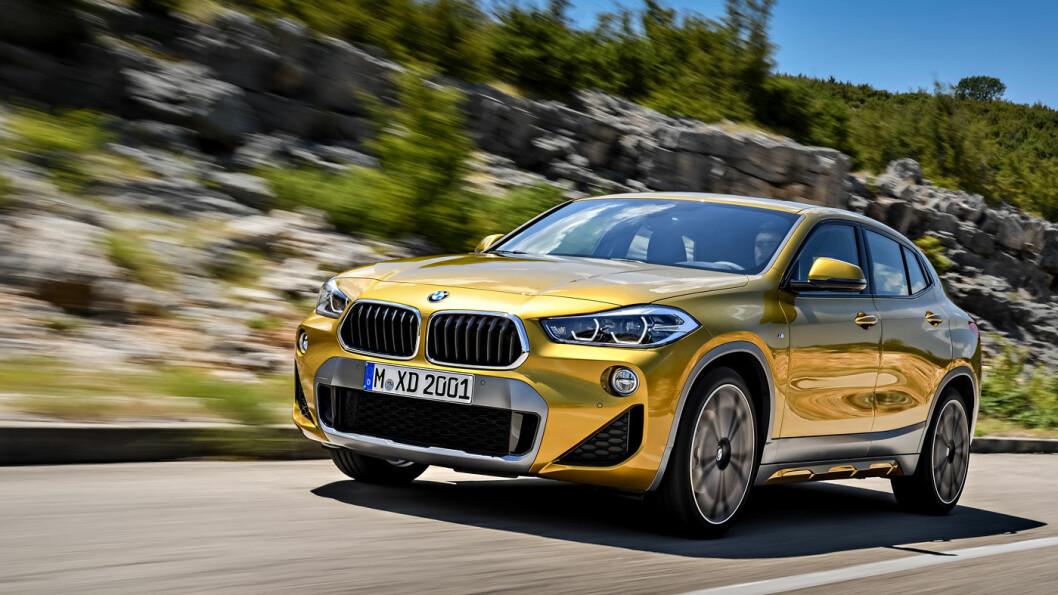 Nye BMW X2