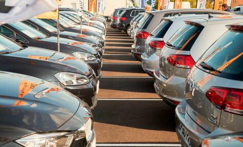 Bilsalget i EU kraftig ned i januar
