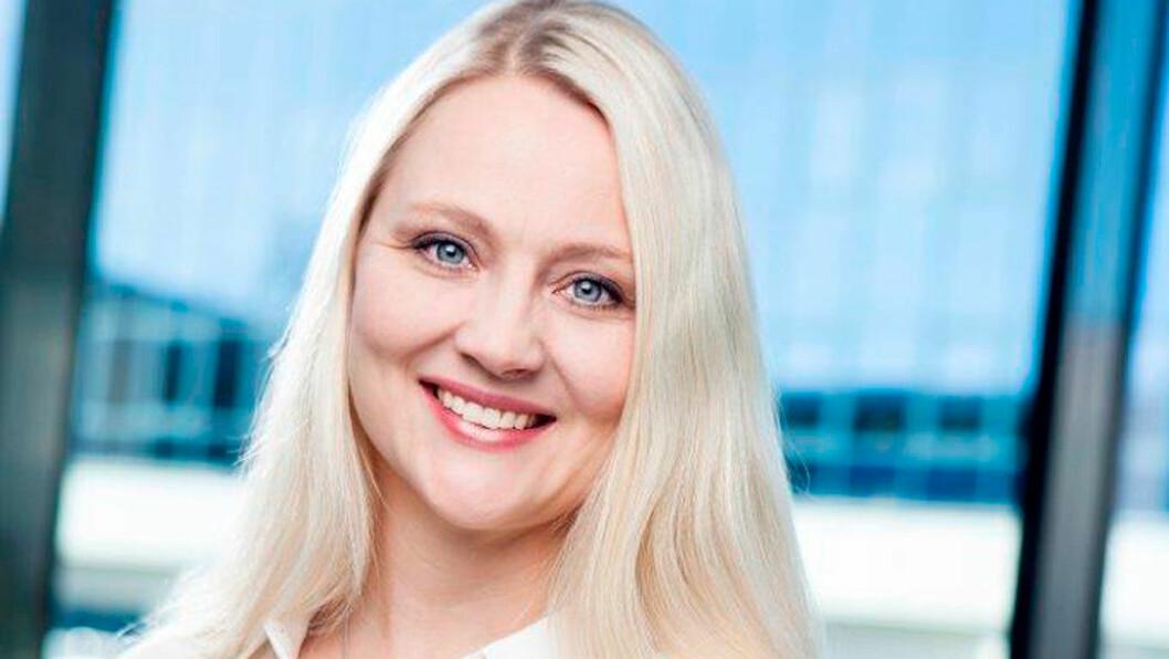 FORNØYD: Anita Svanes, kommunikasjonssjef Volkswagen
