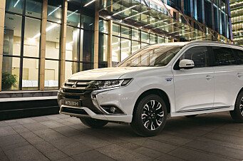Mitsubishi anker dom om rekkevidde
