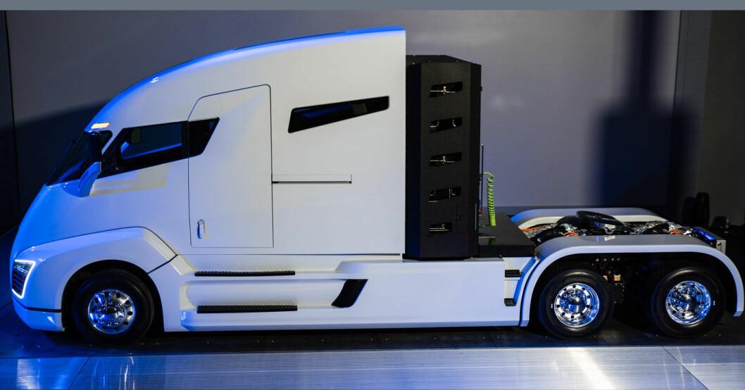 NULLUTSLIPP: Lastebilen Nikola One vil endre USAs forhold til bensin og diesel, tror gründer Trevor Milton.