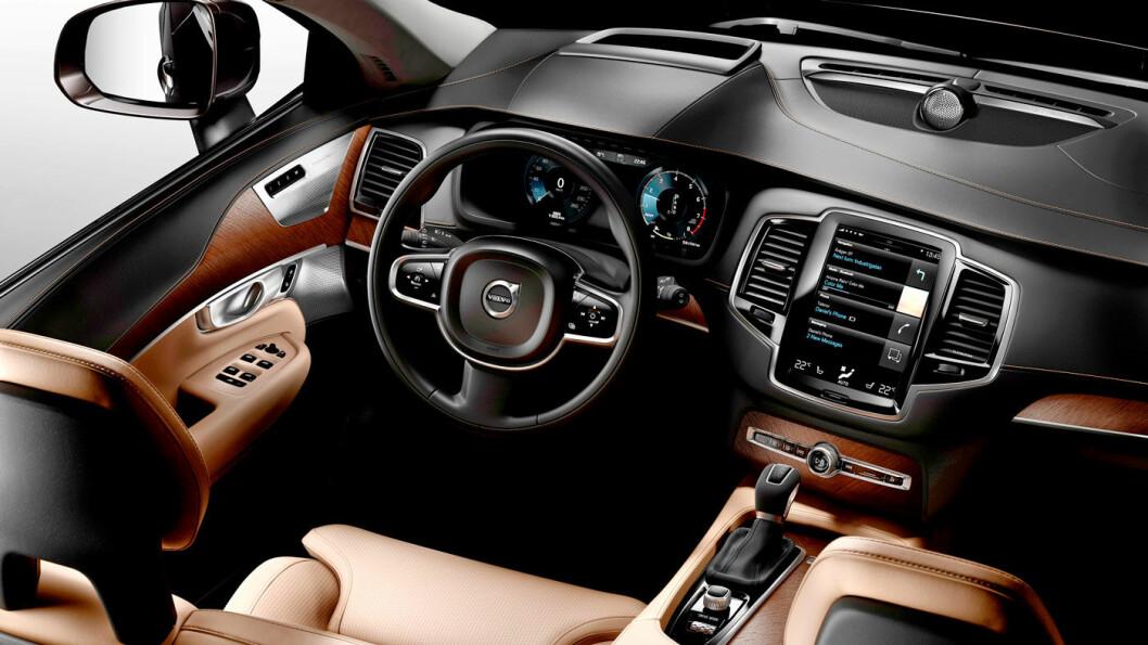 ETTERTRAKTET: Volvo solgte modellen XC90 First Edition utelukkende på nettet, og alle de 1.927 nummererte bilene ble solgt. Da lillebror XC60 ble lansert solgte de 750 biler første dagen, dog hos fysiske forhandlere. Foto: Volvo