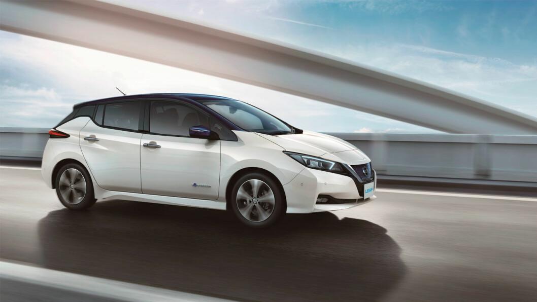 BESTSELGER: Japanerne tar imot nye Nissan Leaf med åpne armer, selv om de ikke nyter godt av elbil-fordeler som kan mål seg med de norske. Foto: Nissan