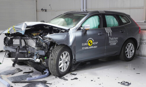 Nye XC60 med høyeste sikkerhetsscore på to år