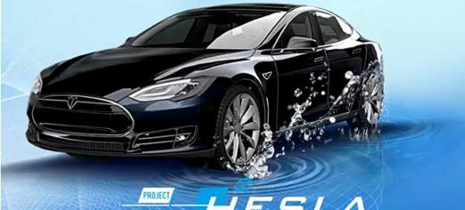 Denne Tesla'en går på hydrogen