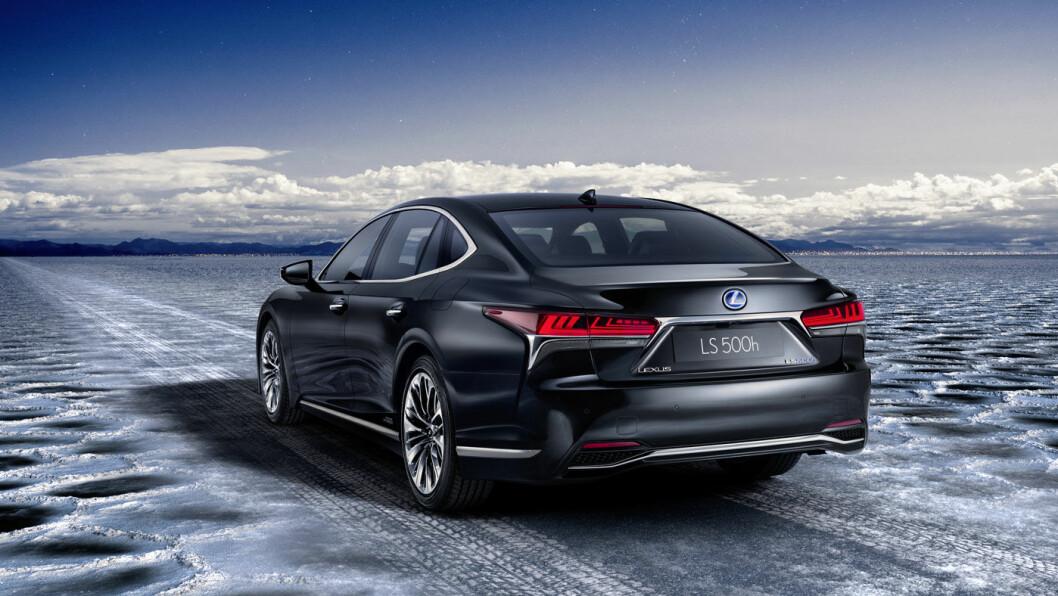 Nye Lexus LS500 er noe av lekreste som lanseres i 2018.