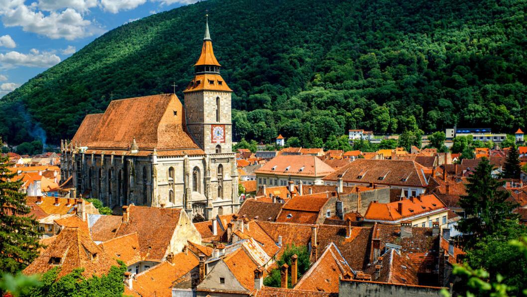 HISTORISK: Brasov er en av Transilvania største byer, og i middelalderen var Brasov en av de av de viktigste byene i regionen. Foto: iStock