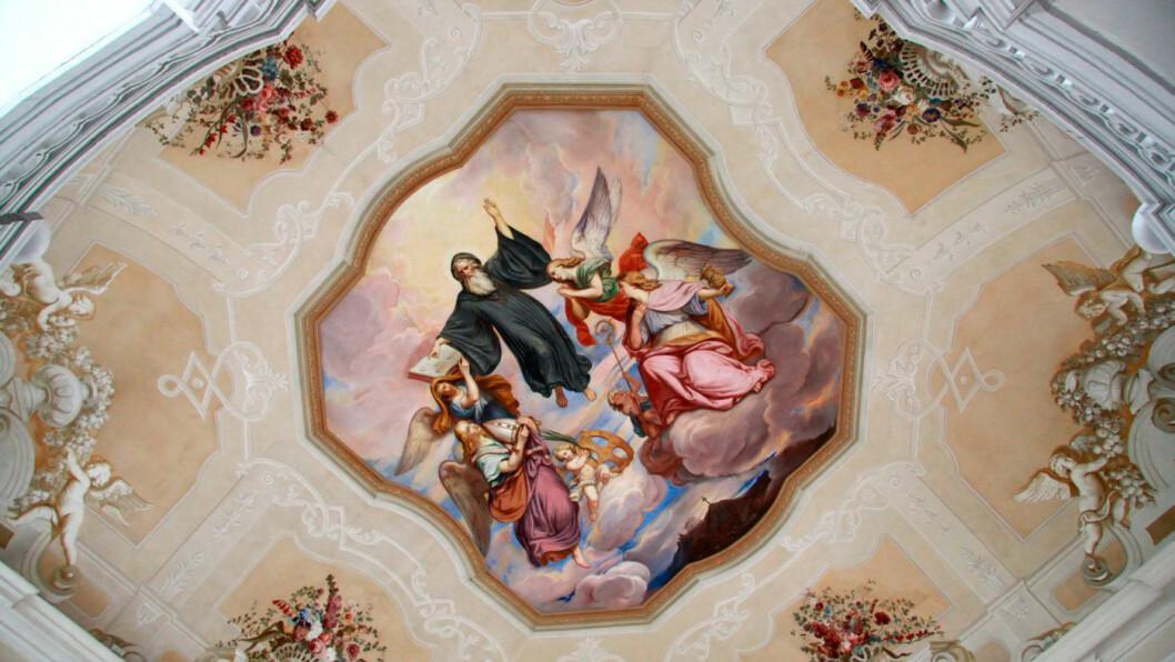 VAKKERT: Benediktinerklosteret Stift Melk er en av de mest imponerende barokkbygningene i Østerrike.