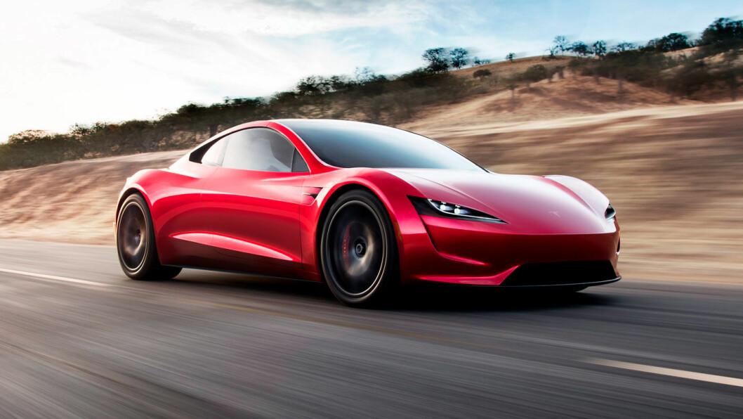 SURPRISE! Tesla kommer med en ny utgave av sin legendariske Roadster.