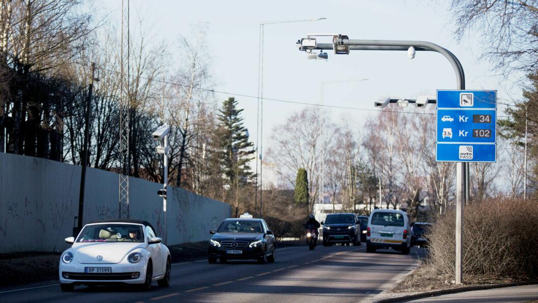 PRISENDRING: Bompasseringene blir dyrere i Oslo, men reduseres flere andre steder i landet. Foto: Espen Røst