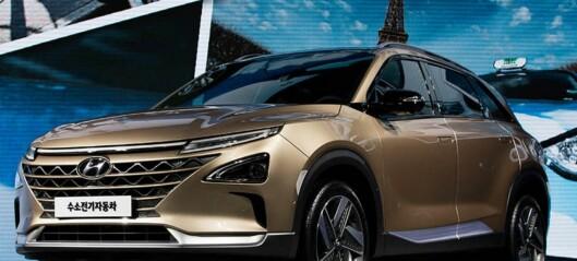 Hyundai med ny hydrogenbil