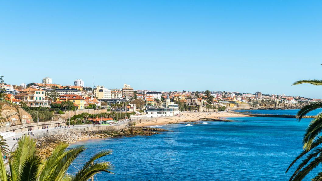 UT MOT HAVET: Estoril har en flott strandpromenade langs havet og ligger bare en halv time fra Lisboa.