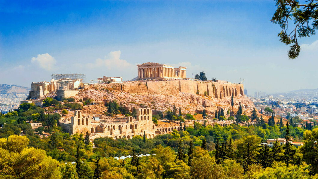 VERDENSARVEN: Akropolis med Parthenon står på Unescos liste.