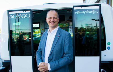 Starter pilot-testing med selvkjørende busser i 2018