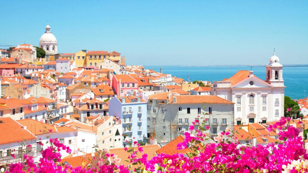 PORTUGALS HOVEDSTAD: Lisboa er en storby, men tempoet er behagelig og avslappet.