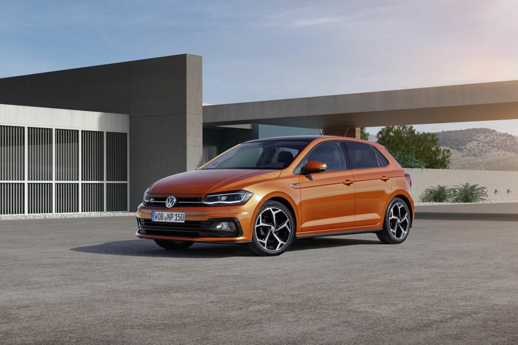 POPULÆR SMÅTASS: VW Polo kommer i ny utgave.