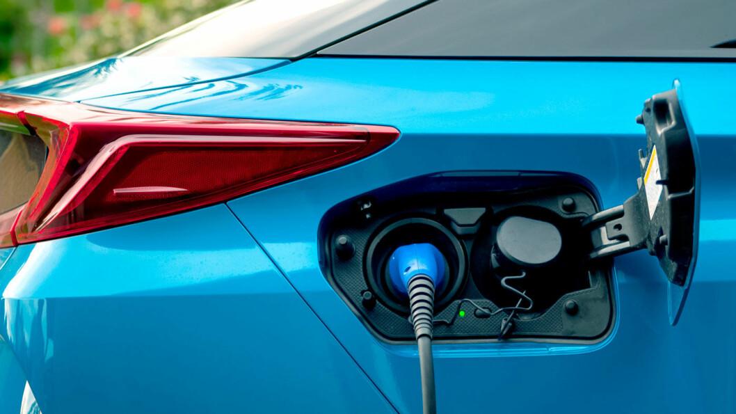 LADBAR:Du trenger ikke å bekymre deg for den elektriske rekkevidden, fordi bensin-/dieselmotoren tar over når batteriet er tomt. Foto: Shutterstock