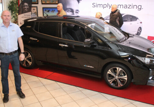 Sjokkpris på nye Nissan Leaf