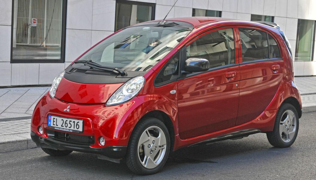 <b>SISTE STOPP: </b>Produksjonen av lille Mitsubishi i-MiEV stanses.
