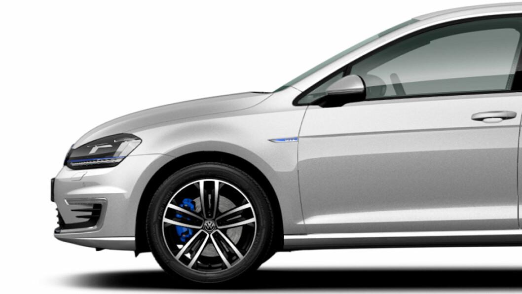 DYRT: Tusenvis av nordmenn kjøper VW Golf. Men ikke ødelegg felgene. Nye originale koster skjorta. Foto: VW