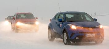 Så mye bruker bilen din i vinterkulda