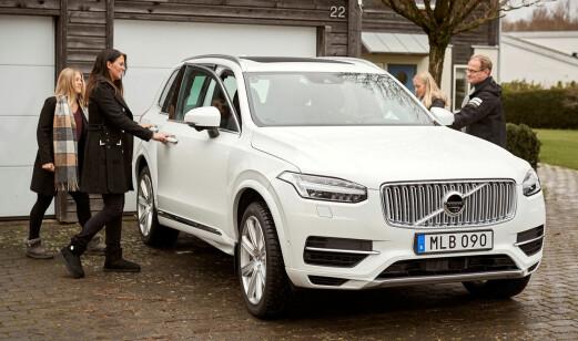 Nå ruller de første selvkjørende Volvo-bilene i Göteborg