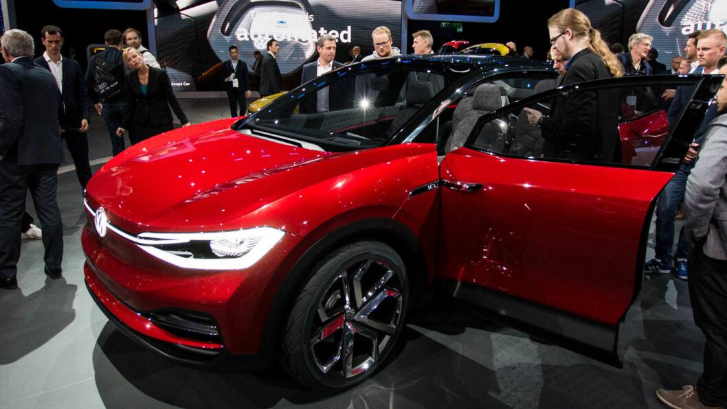 FORVENTNINGER: Volkswagens el-SUV, ID Crozz, er en av de mange spennende elbilene som kommer de neste årene.