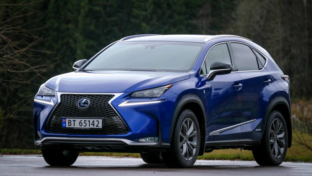 GODE SKUSSMÅL: Lexus-merket har uvanlig fornøyde kunder, og vår test av Lexus NX bekrefter at det neppe er tilfeldig. Foto: Jon Terje Hellgren Hansen