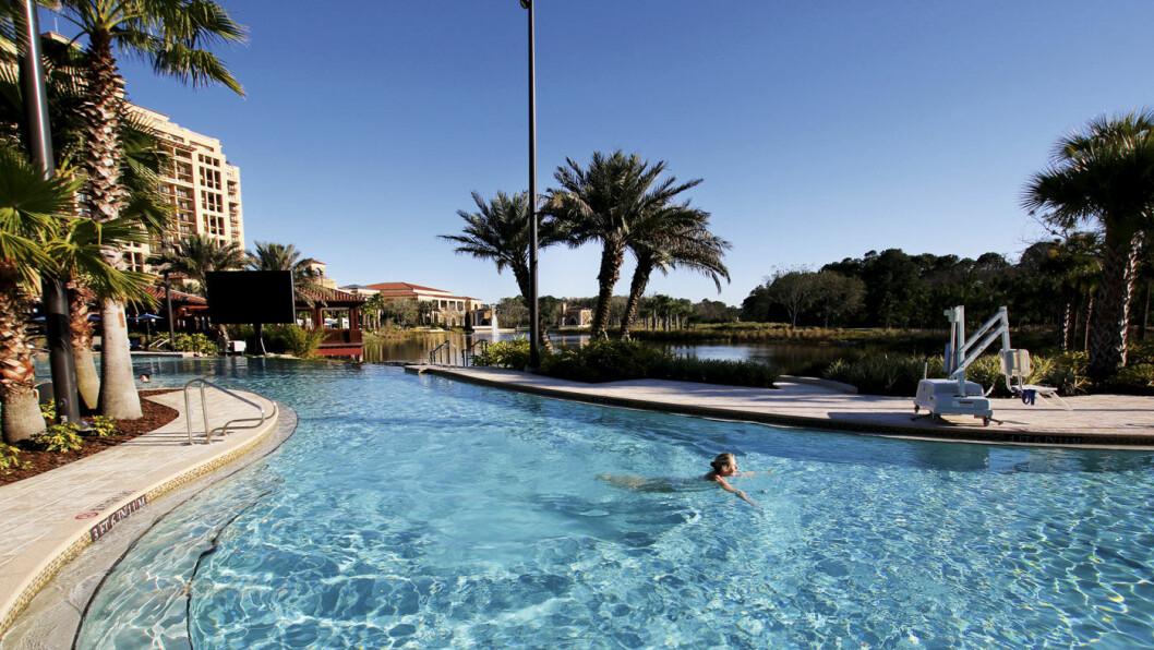 LUKSUS: Hotellet Four Seasons i Orlando har fått Five Diamonds Award. Det er den beste utmerkelsen som er mulig å få av NAFs søsterorganisasjon AAA. Foto: Lina Schøyen