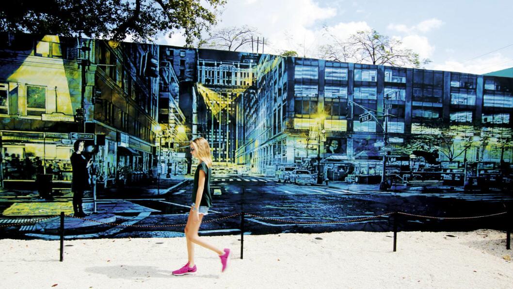STREET ART: Gatekunsten i Wynwood har løftet en hel bydel.