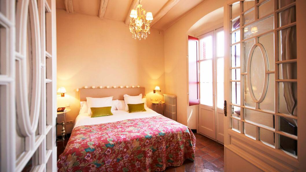 HOTELLER MED SÆRPREG: Det finnes masse hoteller langs Costa Brava, vi har funnet frem til noen av perlene - som Hotel Aiguaclara hvor ingen av rommene er like. Foto: Hotel Aiguaclara