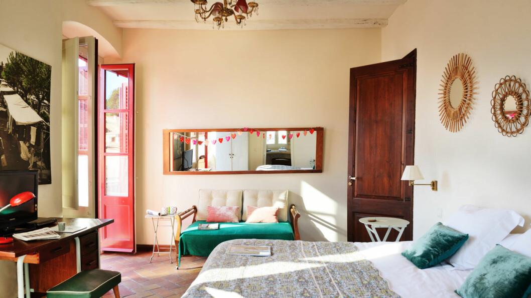 PERSONLIGHET: Alle de vakre rommene på Hotel Aiguaclara er innredet forskjellig.