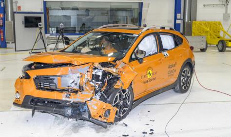 Disse bilene vant sikkerhetstest i 2017
