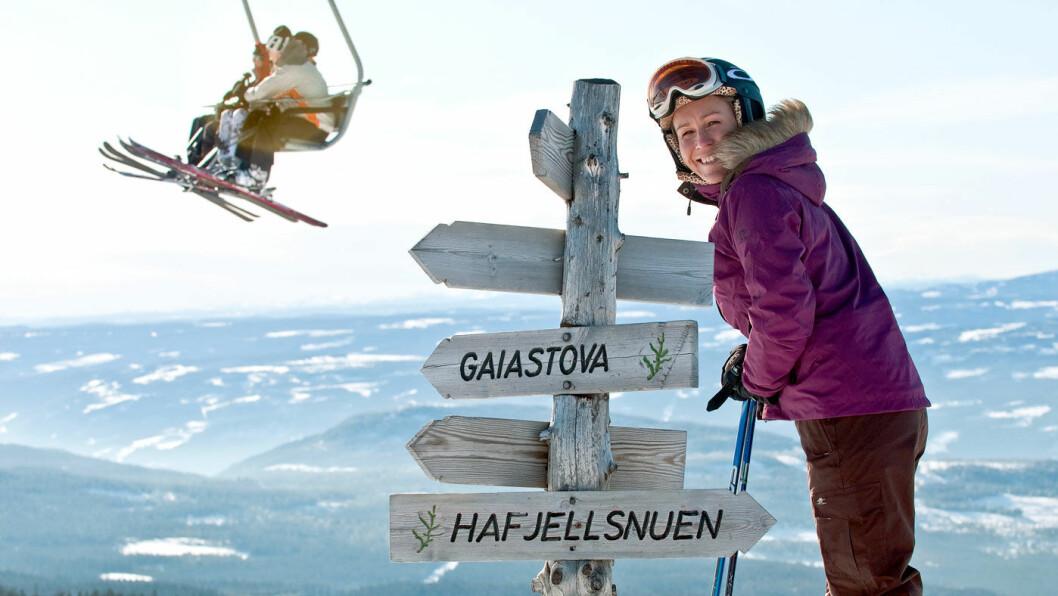 30 BAKKER Å VELGE MELLOM: Hafjell er et populært skiområde. Vil du ha enda større utfordringer, er det bare en halvtime å kjøre til Kvitfjell. Foto: Visit Norway