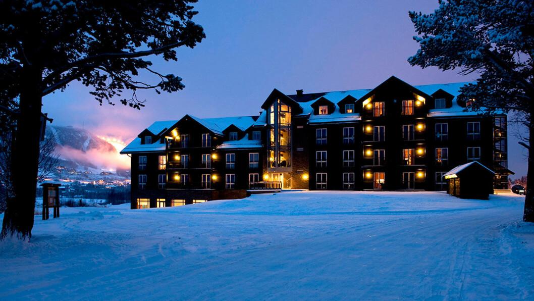 FLOTTE FASILITETER: Vestlia Resort ligger rett ved bakken og har både et prisbelønt spa, badeland og lekeland.