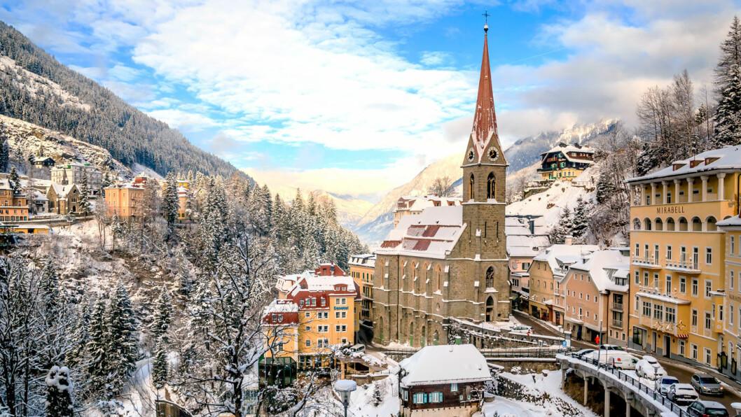 ALPEFAVORITT: Bad Gastein er populært blant nordmenn som reiser på skiferie. Foto: Shutterstock