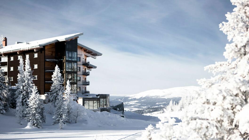 LITT LUKSUS: Designhotellet Copperhill Mountain Lodge ligger i den delen av Åre som heter Björnen.