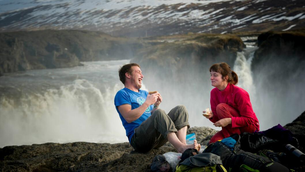 UT PÅ TUR, ALDRI SUR: Island er vilt, vakker og vennlig. Foto: Jon Terje Hellgren Hansen