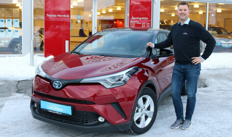 Avgiftsfrykt ga rekordhøyt bilkjøp