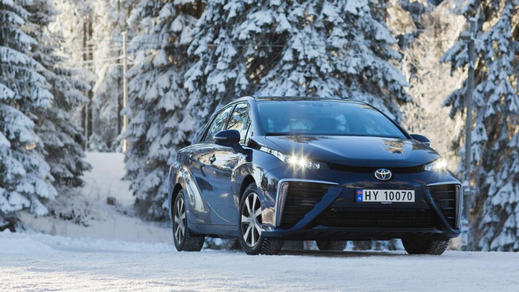 ØKT INTERESSE: Toyota varsler om økt interesse for sin hydrogenbil Mirai. Foto: Toyota Norge